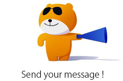 send your message!